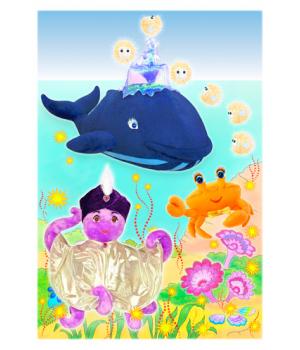 Цветная открытка *МОРСКИЕ ГЕРОИ 1*