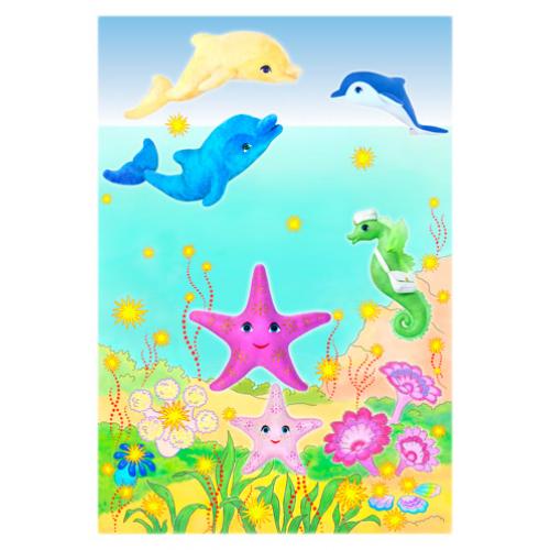 Цветная открытка «МОРСКИЕ ГЕРОИ 2»