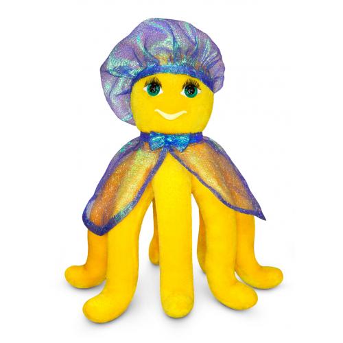 Мягкая игрушка «ОСЬМИНОЖИК СОЛНЕЧНЫЙ»