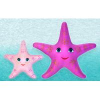 Мягкие игрушки «МОРСКАЯ ЗВЕЗДА и ЗВЁЗДОЧКА-ДОЧКА»