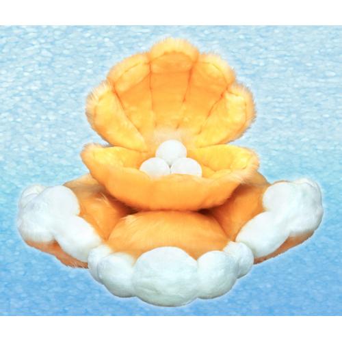 Мягкая игрушка «УТРЕННЕЕ ОБЛАКО-ЖЕМЧУЖНИЦА НА ГРЯДЕ ОБЛАКОВ-ВОЛН»